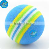 Colorful EVA Foam Balls Bouncy Rubber Ball 6.3cm diameter