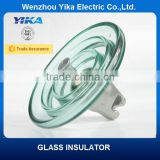 Wenzhou Yika IEC 100KN Disc Insulator Fog Type Glass Insulator U100