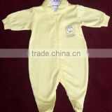 cheap embroidery 100% cotton baby romper
