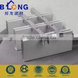 50*150mm U shaped decorative aluminum baffle ceiling system