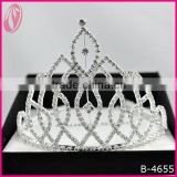 2013 Tall Beauty Pageant Queen&King Rhinestone Crown Tiara