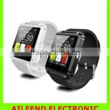 Wrist Watch for Samsung S4/Note 2/Note 3 HTC LG Huawei Xiaomi Android Phone Smartphones U8 Bluetooth Smart Watch