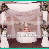2015 RP hot selling Wholesale Pipe and Drape/portable pipe and drape/adjustable fancy backdrop stand