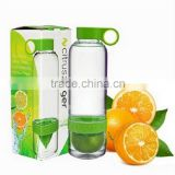bpa free tritan fruit infusing infuser water bottle,sport health lemon cup fruit infusing infuser water bottle
