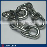ASTM80 Standard Galvanized Treatment method Transport Chain,Q235 Material Welding Chain For G70 Chain