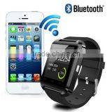 Wholesale U8 smart alarm clock wrist watch phone                                                                                                         Supplier's Choice