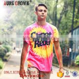 Men's Free Printing T Shirt With Bright Color