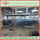 Minibus SKD Parts Assembling Line for Sale