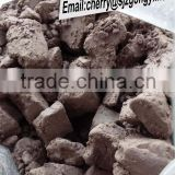 high quality washed brown kaolin clay raw lumps shap ball clay with good price for ceramic glaze use