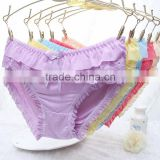 b003 Cotton Sexy Panty bamboo fabric Underwear Women's Thong Panties 2015