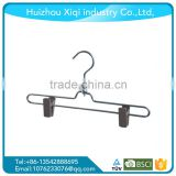 2016Most Popular Custom Coloured Copper PVC Coated Wire Metal Hanger With Clips