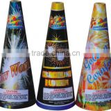 Fountain Fireworks conic fountain 1.4G/smoke fountain fireworks 10''