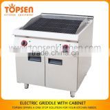 Cast iron grill gas range,commercial cooking range for restaurant kitchen