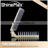 Plastic comb Travel hotel disposable foldable plastic comb Salon plastic tail comb Salon comb
