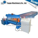 Assured quality metal new design high speed glazed tile roof roll forming machine for sale