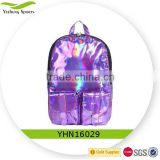 Latest Fashion Holographic Backpack for School Student Women Laser School Backpack
