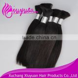 Raw material unprocessed virgin human magic hair extension natural black