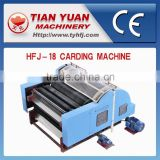 HFJ-18 Sheep Wool Machine,Carding Machine Polyester Fiber,Wool Rool Combing Machine