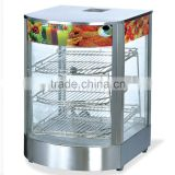 food warmer hot display showcase for heating warming cabinet