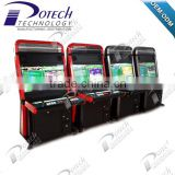 Cheap arcade machines in indoor playground equipment 32 inch coin pusher machine for sale