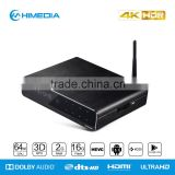 UHD Android Media Player Himedia Q10 pro 4K60 10bit colour dual-band wi-fi TV Box with Fully Play Store