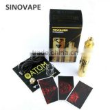 Special Gold Limited Edition Atom Vapes 24ct Gold plated ATOM Revolver subxero kit in stock now!!!