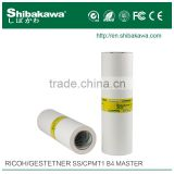 Ss B4/cpmt1 Master Roll For Ricoh duplicator SS810/830/880/890/910/935/955/5110/
