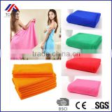 New Superfine Microfiber Convenient Soft Body Portable Travel Big Bath Towels For Adults