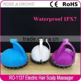 High quality portable electrical scalp massager for hair washing