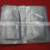 Aluminum Single Wet wipes/Tissue/ Household Wipes/Wet Napkin