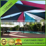 outdoor sun shade sail,square or triangle multifunction shade netting,New Design Rectangle Shade Sail