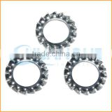 China professional manufacturing stainless steel tooth washers din6797 lock washer with external teeth