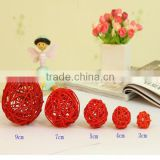2016 new beautiful cheap wicker ball decorations