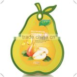 Wholesale multi function food grade flexible cutting board of pear shape with competitive price