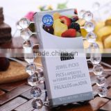 Wholesale plastic PS hight quality eco-friendly dessert cake fruit fork
