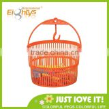PP storage plastic round baskets bulk plastic baskets