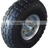 High quality Pnumatic Rubber/ Solid /PU foam wheel, wheelbarrow wheel tyre tire 3.50x8 3.50-8 16x4.80/4.00-8