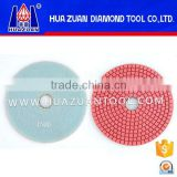 High qulaity 4-8 inch wet polishing pads for angle grinder