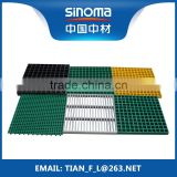FRP GRP Fiberglass Composite Gratings Trench Cover for Car Washing Center