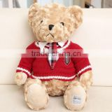 American/England style teddy bear animal stuff and plush toy