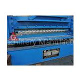 Corrugated 0.4mm - 0.8mm Roof Panel Roll Forming Machine / Curving Machinery