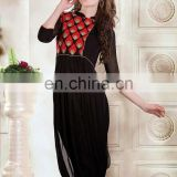 New Bollywood fashionest Designer letest Fashionable plain Salwaar Kameez designer Kurti R1392