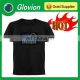HOT sale EL T-shirt electronic music t-shirt electronic guitar shirt