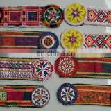 (KP-3215) Afghan Kuchi Mirror Pacthes