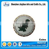 Brass material antique coin with custom logo