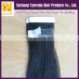 two color virgin brazilian hair weave tape hair extensions pu skin weft