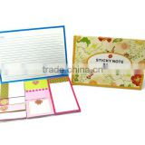 Sticky Note Folio with 8 Sticky Pads