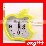 OXGIFT candy-colored apple shaped candy-colored fashion creative personality alarm clock