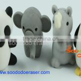 3d bulk puzzle erasers for child