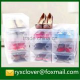 Customized PP clear packaging shoe box for sale                                                                         Quality Choice
